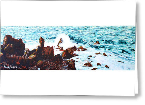 Black Rocks - Greeting Card - Blue Creations Store