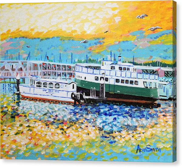 Foot Ferry - Canvas Print - Blue Creations Store