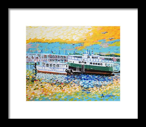Foot Ferry - Framed Print - Blue Creations Store