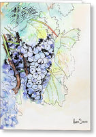 Grape Vine - Greeting Card - Blue Creations Store