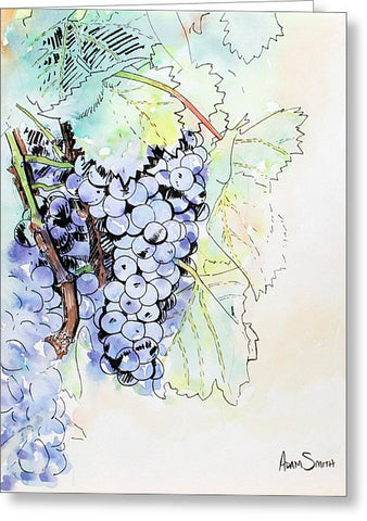 Grape Vine - Greeting Card