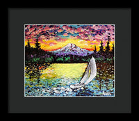 Northwest Sunset - Framed Print - Blue Creations Store