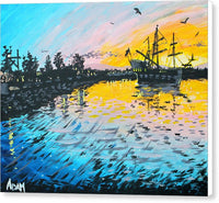 Pirates In Port Orchard - Canvas Print - Blue Creations Store