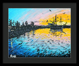 Pirates In Port Orchard - Framed Print - Blue Creations Store