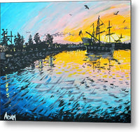 Pirates In Port Orchard - Metal Print - Blue Creations Store