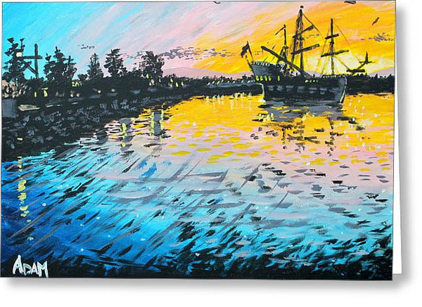 Pirates in Port Orchard - Greeting Card