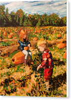 Pumpkin Patch - Canvas Print - Blue Creations Store