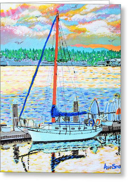 Sailboat - Art Print - Blue Creations Store