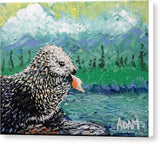 Sea Otter - Canvas Print - Blue Creations Store