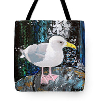 Seagull Perch - Tote Bag - Blue Creations Store