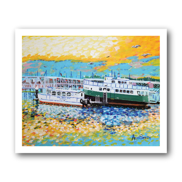 Foot Ferry - Art Print
