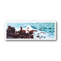 Black Rocks - Art Print