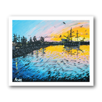 Pirates In Port Orchard - Art Print