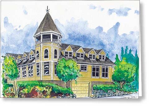 Sidney Professional Building - Greeting Card - Blue Creations Store