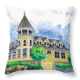 Sidney Professional Building - Throw Pillow - Blue Creations Store