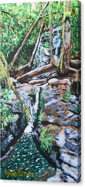 Waterfall - Canvas Print - Blue Creations Store