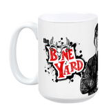 Bone Yard Mug White