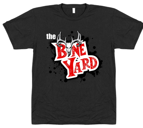 Bone Yard Sq Logo Dark T Shirt