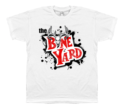 The Bone Yard Sq Logo Lite T Shirt
