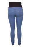CM393 FADED WASH DENIM SKINNY JEAN