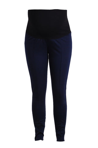 CM351 PONTI JEGGINGS NAVY
