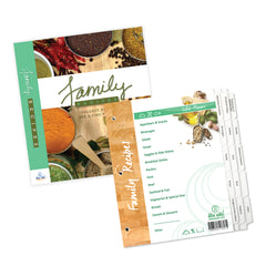 Family Recipe Organizer Kit: STANDARD LENGTH Index Tabs