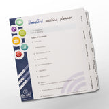 Meeting Planning Tab Kit for Three Ring Binder (Standard Meeting)