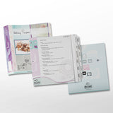 Baker's Recipe Organizer Kit: LONG Index Tabs for Three-ring Binder with Cover
