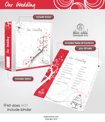 Wedding Planner Organizer Kit