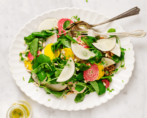 Best Spring Salad Recipe Spring Roots and Watercress