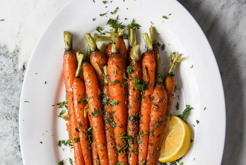 maple glazed carrot recipe using crown maple syrup