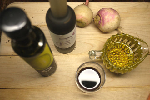Balsamic Vinegar Mix With Olive Oil