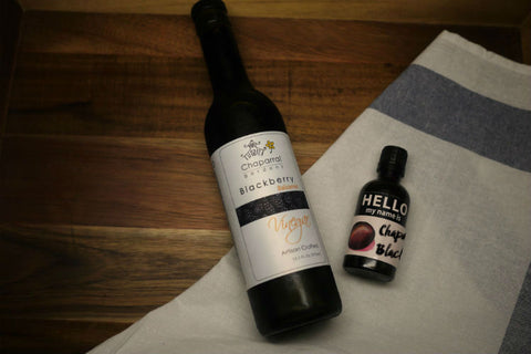 Chaparral Garden's Blackberry Balsamic Vinegar