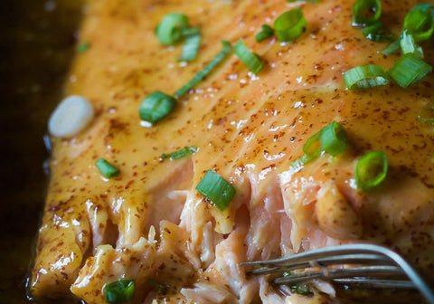 Dijon Maple Glazed Salmon Recipe
