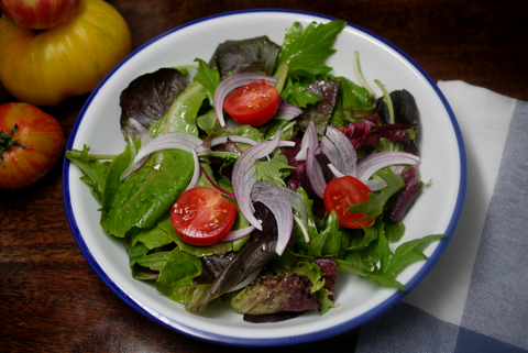 Every Day Salad Recipe with Extra Virgin Olive Oil