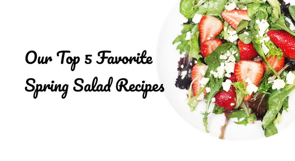 Strawberry salad with elderberry balsamic vinegar