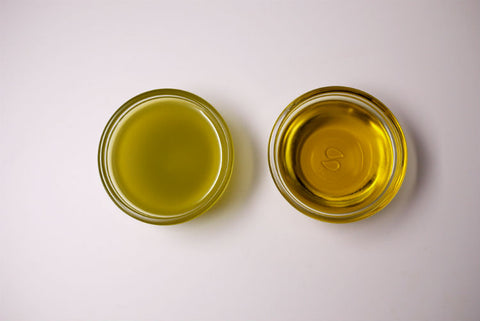Arbequina Olio Nuovo versus Finished Olive Oil