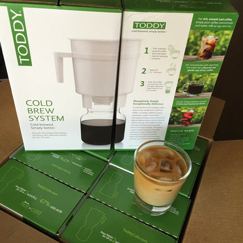 Toddy Cold Brew System & 12oz Bag of Coffee