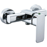 Chrome Single Lever Mixer Shower Set - SNUGGX - 2