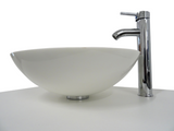 SNUGGX Classic White Tempered Glass Countertop Basin - SNUGGX - 3