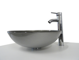 SNUGGX Contemporary Tempered Glass Countertop Basin - SNUGGX - 7