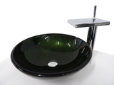 SNUGGX Contemporary Tempered Glass Countertop Basin - SNUGGX - 6