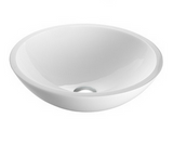 SNUGGX Classic White Tempered Glass Countertop Basin - SNUGGX - 2