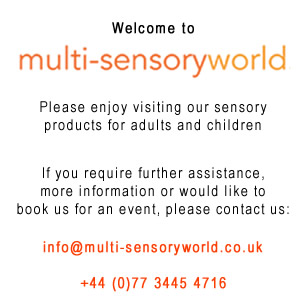Welcome to Multi-Sensory World - Click here to contact us by email or phone