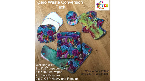 Tranquility Zero Waste Conversion Pack