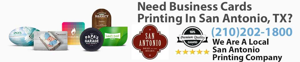 Business cards in san antonio tx la luz printing company san business cards in san antonio tx reheart Gallery