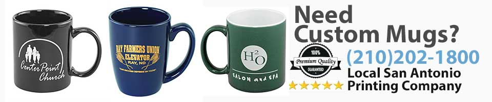 Custom Mugs San Antonio TX