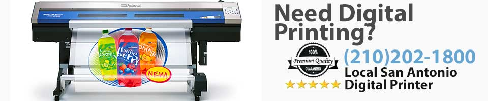 Digital Printer San Antonio TX