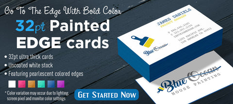 Painted edge business cards san antonio tx printing services la 32pt uncoated painted edge business cards colourmoves