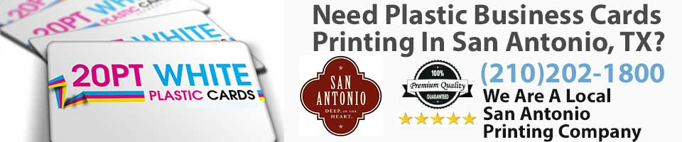 Plastic Business Cards San Antonio TX